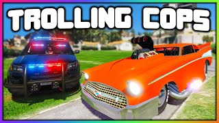 GTA 5 Roleplay - 5000HP DRAG CAR TROLLS COPS | RedlineRP
