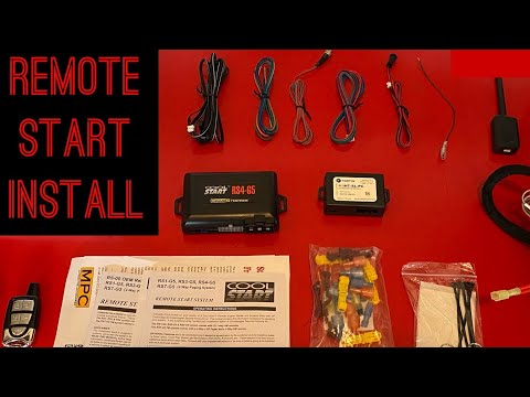 DIY How to Remote starter install GM Chevy Hummer