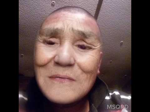 Old lady dying