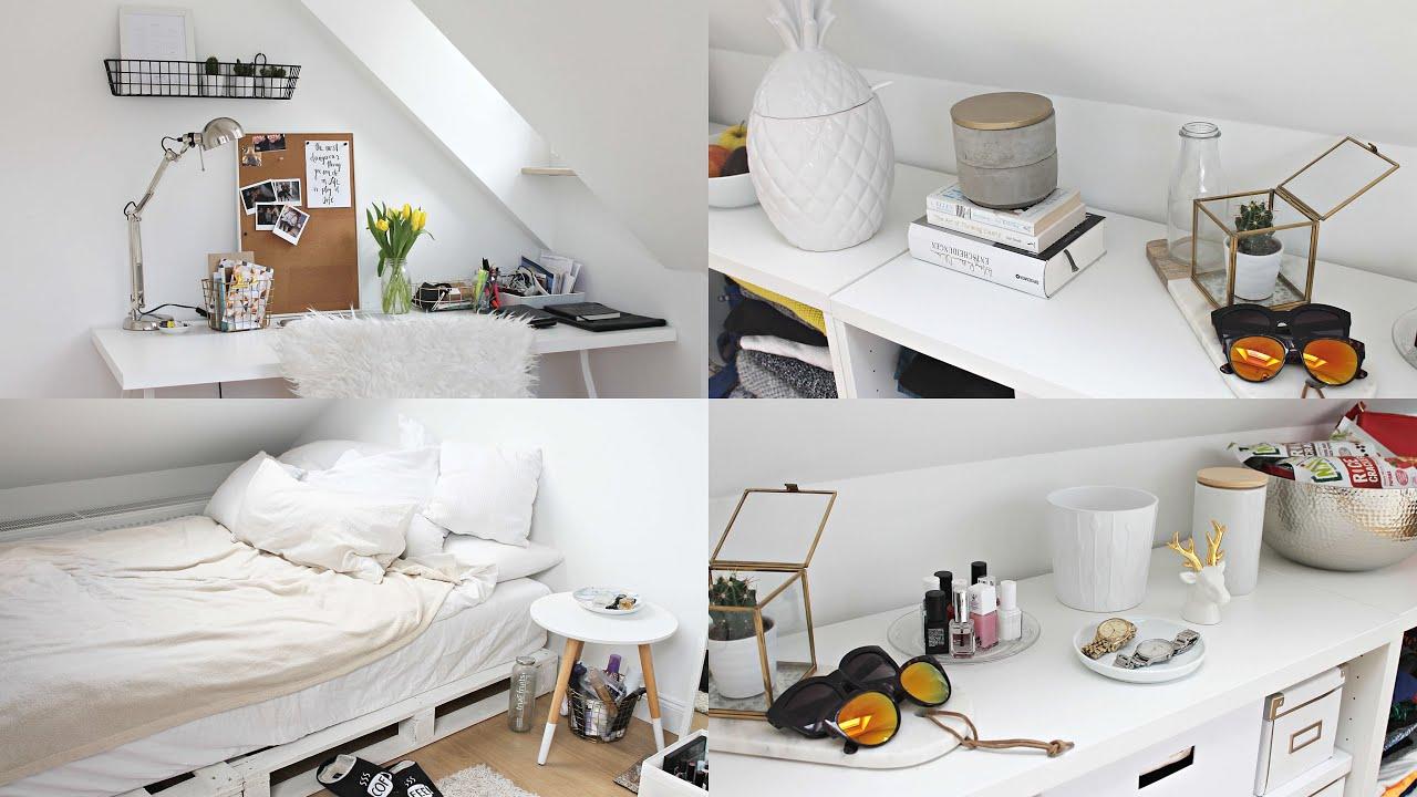 room tour wg zimmer fithealthydi youtube. Black Bedroom Furniture Sets. Home Design Ideas