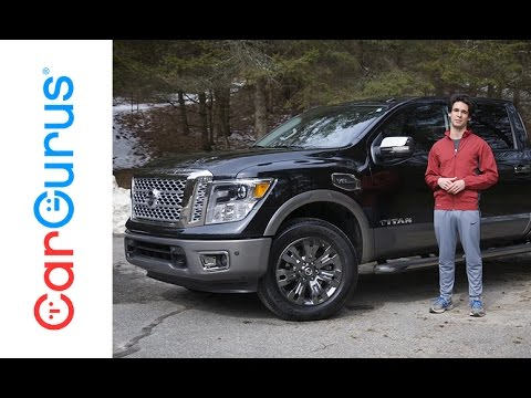 2017 Nissan Titan | CarGurus Test Drive Review