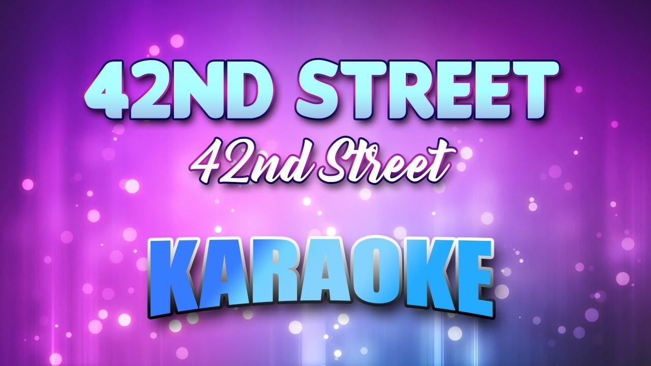 42nd Street Lyrics - Musical Lyrics - Broadway Musicals