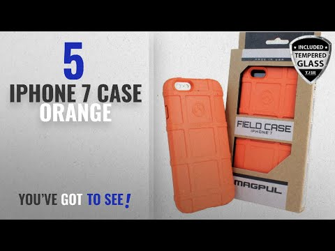 top-5-iphone-7-case-orange-[2018-best-sellers]:-iphone-7-case,-iphone-8-case,-with-tjs-[tempered