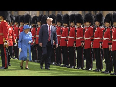 President Donald J. Trump and First Lady Melania Trump Visit the U.K.