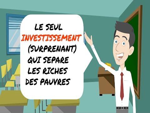 Le seul investissement (surprenant) qui sépare les riches des pauvres