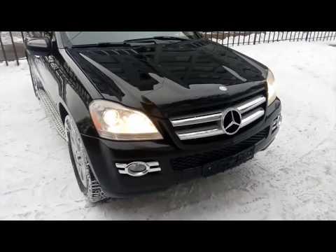 Купить Mercedes Benz GL класс X164 2008 г.в. черный бензин 340 л.с. г. Москва продан