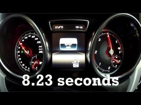 2016 Mercedes-Benz GLS350d 0-160km/h 100mph with GPS data!