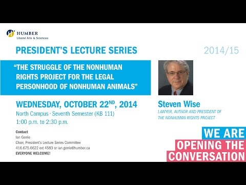 Download Youtube: President's Lecture Series: Steven Wise