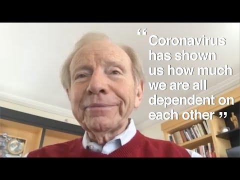 Senator Joe Lieberman shares thoughts about COVID-19