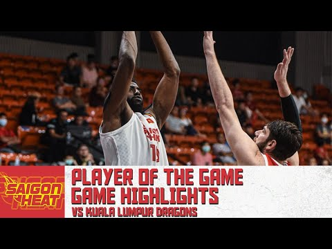 PLAYER OF THE GAME: Malcolm White with 21 points and 11 rebounds vs. Kuala Lumpur Dragons