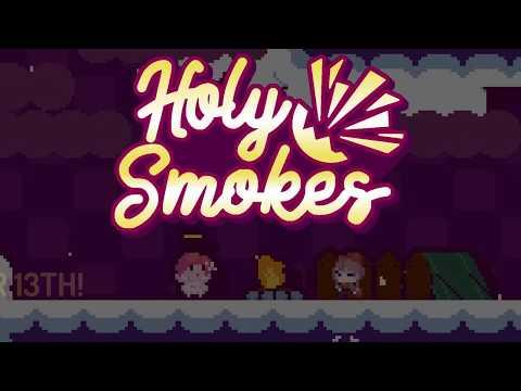 Dig Dug сталкивается лоб в лоб с Бомберменом в roguelike игре Holy Smokes