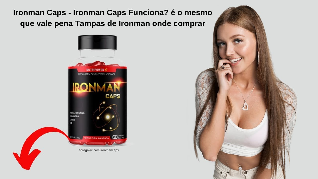 💊ironman caps site oficial