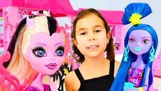 Вечеринка кукол Монстер Хай. Идеи для кукол - Мультики для девочек