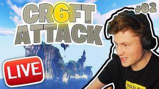CRAFT ATTACK 6 #2 | Wir bauen STADT ROT auf | Dner LIVE