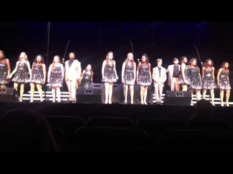 Biloxi High School Sound Surge Show Choir at Jackson Prep 1/23/16