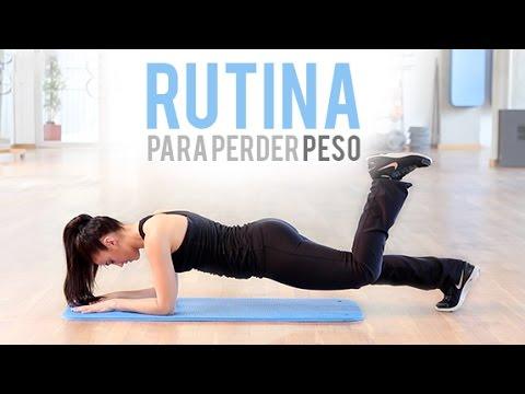 Rutina ejercicios perdida de peso