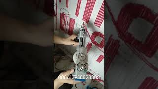 how to make carpet or for cushion cover by yourself at home hand tufting gun machine AK-I AK-II