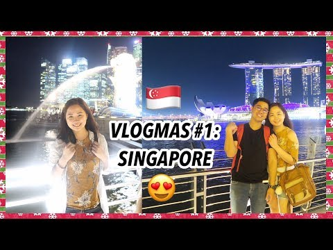 Our SINGAPORE Trip + MARINA BAY TOUR | VLOGMAS 2017 | Raych Ramos💕