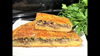 Заливной РЫБНЫЙ ПИРОГ Вкусный и бюджетный обед для всей семьи Пирог с консервированнной рыбой
