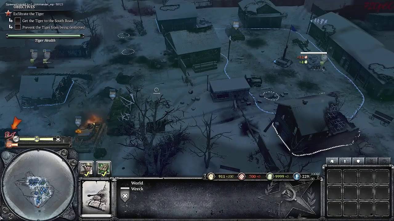 Cheat Command Mod Heroic Campaign Company Of Heroes 2 Youtube