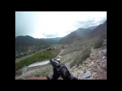 U S  Soldier Survives Machine Gun From Taliban Fire During Firefight