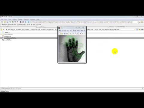 BIOMETRIC RECOGNITION USING HAND GESTURE IMAGES TAKEN FROM LIVE WEBCAM