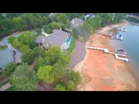 Completed installation on Lake Norman - Eastern Roof Technologies