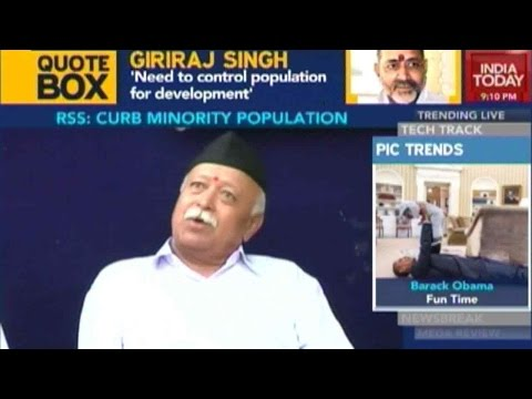 Curb Muslim Population With Policy: RSS To Modi Govt