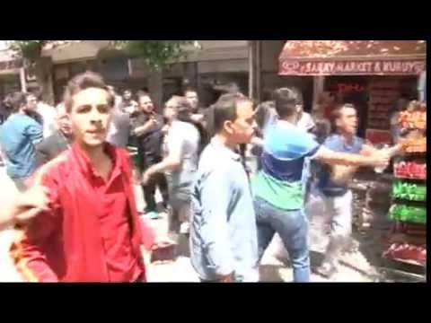 Diyarbakır Sur'da HDP heyetine tepki