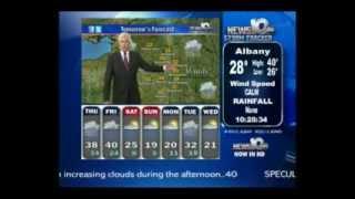 WRGB/CBS 6 (Albany NY): Weather w/Neil Estano, 11/14/2011 6:47am EST ...