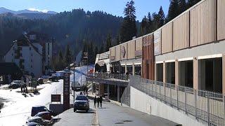 La Galerie du Haut Lioran fin prête pour l'ouverture de la saison hivernale 2016-2017.
