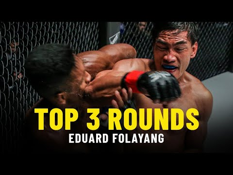Eduard Folayang's 3 Best Rounds