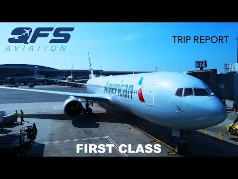TRIP REPORT | American Airlines - 767 300 - New York (JFK) To Miami (MIA) | First Class