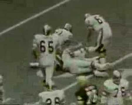 Archie Manning Saints First Win in the SUPERDOME Oct 12 1975