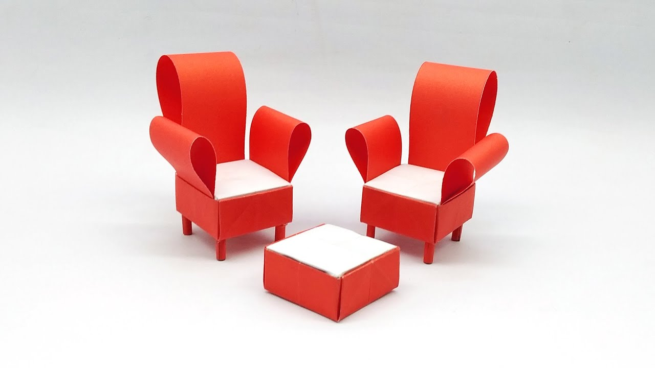How To Make a Beautiful DIY Paper Sofa Furniture ...