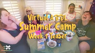 ABDL Summer Camp: Week 1 Promo