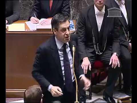 Echange Vif entre Jean Marc Ayrault et François Fillon