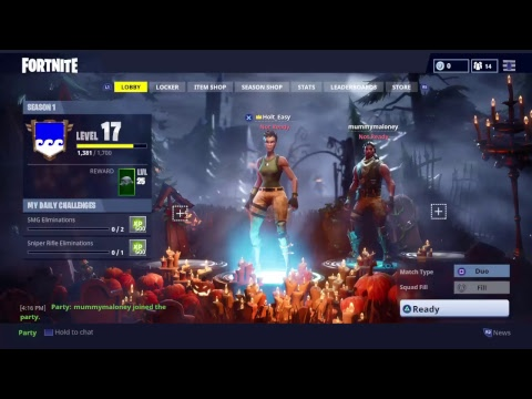 Looking For A Duo Partner (Fortnite)