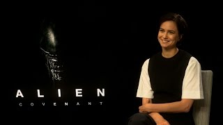 Alien: Covenant interview - hmv.com talks to Katherine Waterston