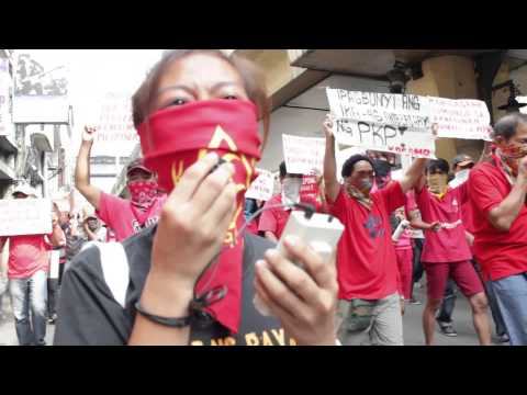 Revolutionary workers hold rally, hail CPP's 46th anniversary