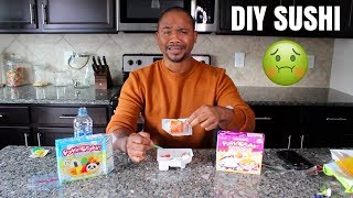 I TRIED MAKING EDIBLE DIY FOOD out of CANDY!!