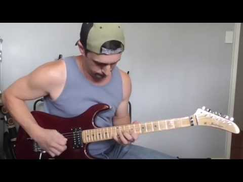 Cold Chisel Forever Now Guitar Solo Cover Youtube