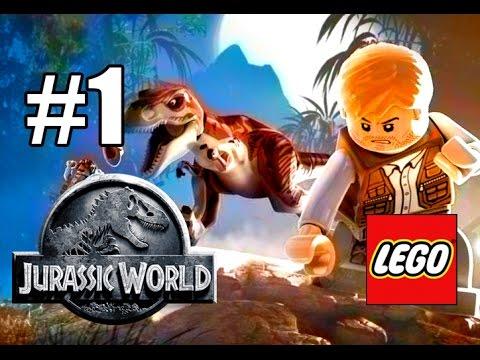 Мультик игра Lego Юрский Парк 3 Крушение на острове динозавров