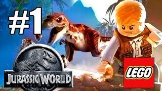 МИР ДИНОЗАВРОВ! #1 LEGO: Мир Юрского периода (60 FPS) LEGO Jurassic World