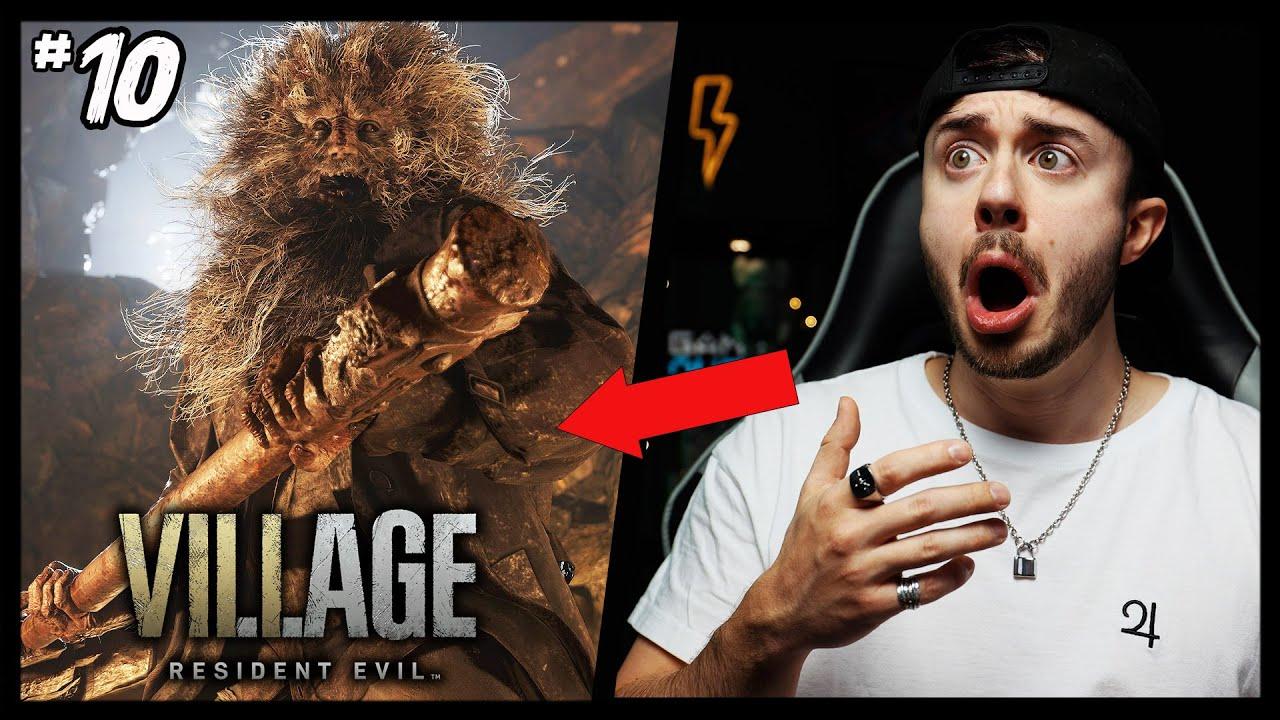 WIR SIND UMZINGELT VON MONSTERN! Resident Evil 8 Village   Let`s Play Teil 10