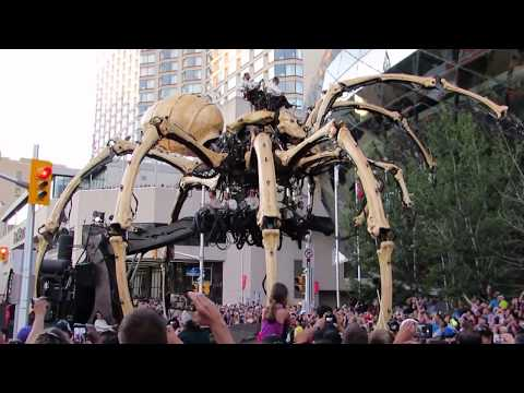 """""""La Machine: Kumo and Long Ma"""" (fight scene) - Ottawa, July 28, 2017"""