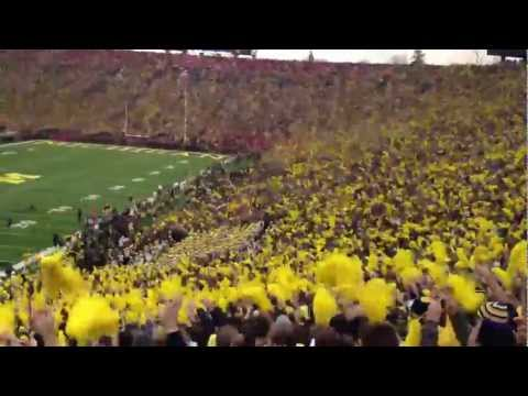 Ohio State at Michigan - Seven Nation Army (11/26/11)