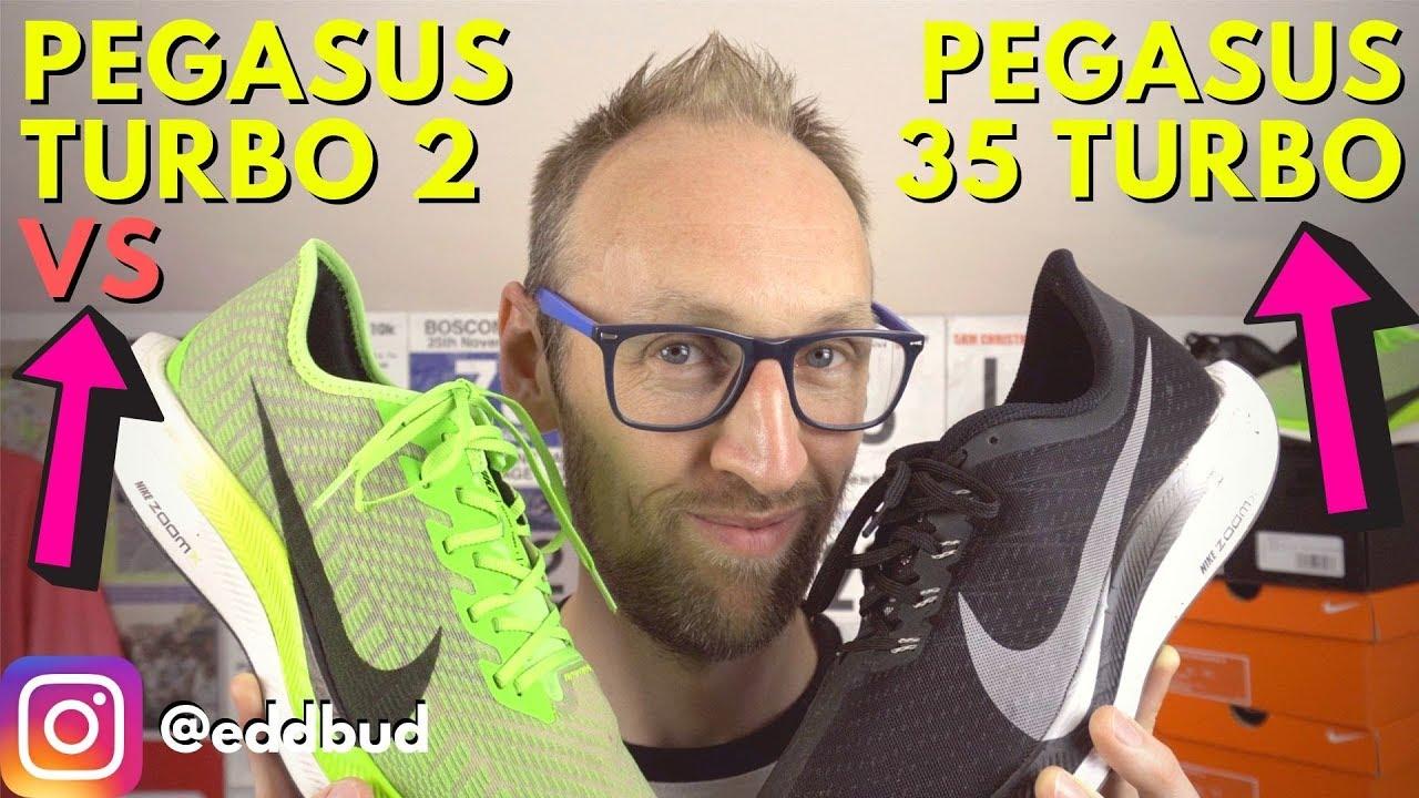 Nike Pegasus 36 vs Pegasus 35 Comparison Review YouTube