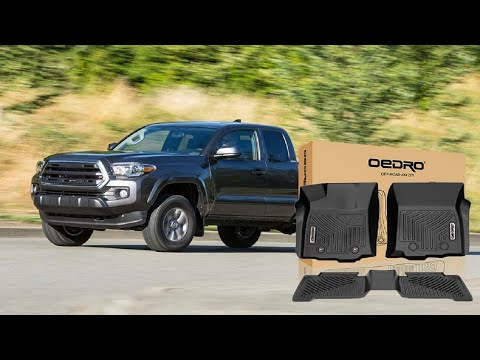 Unboxing Review Oedro All Weather Floor Mats For 2016 2017 Toyota Tacoma Double Cab