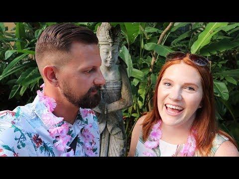 Hawaiian Luau Date Night At Universal Orlando!   Wantilan Luau at Royal Pacific Resort